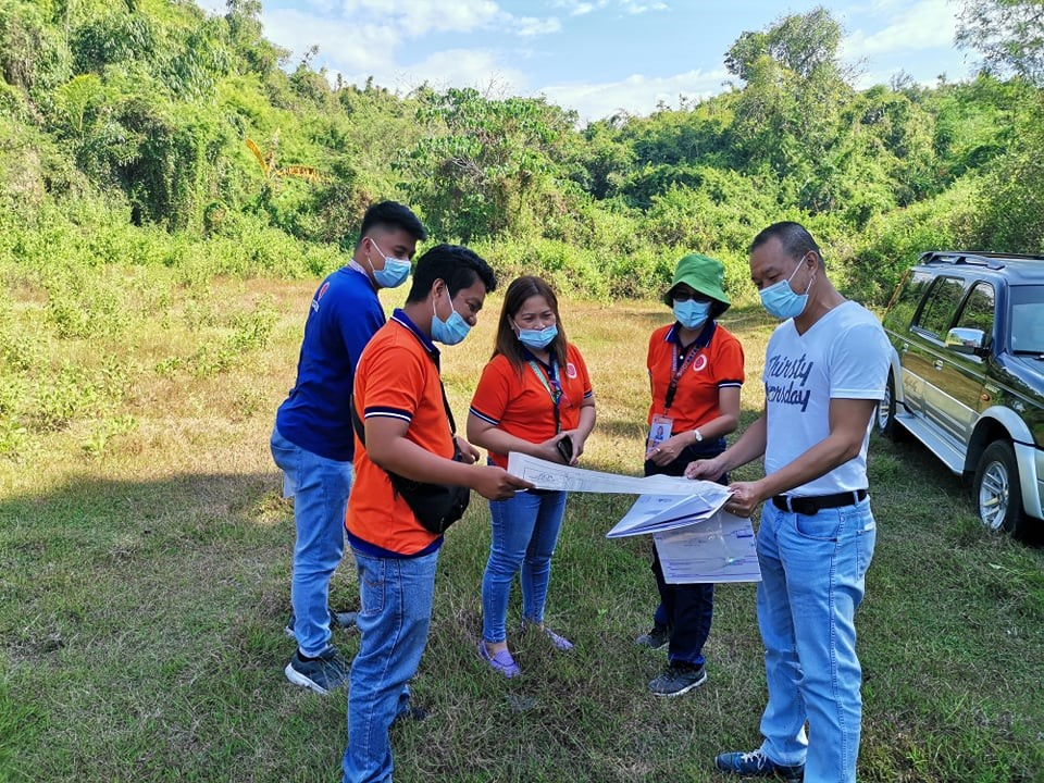 STF Site Assessment  at Balaoan
